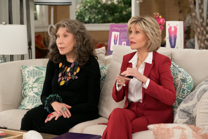 best lgbtq shows grace and frankie