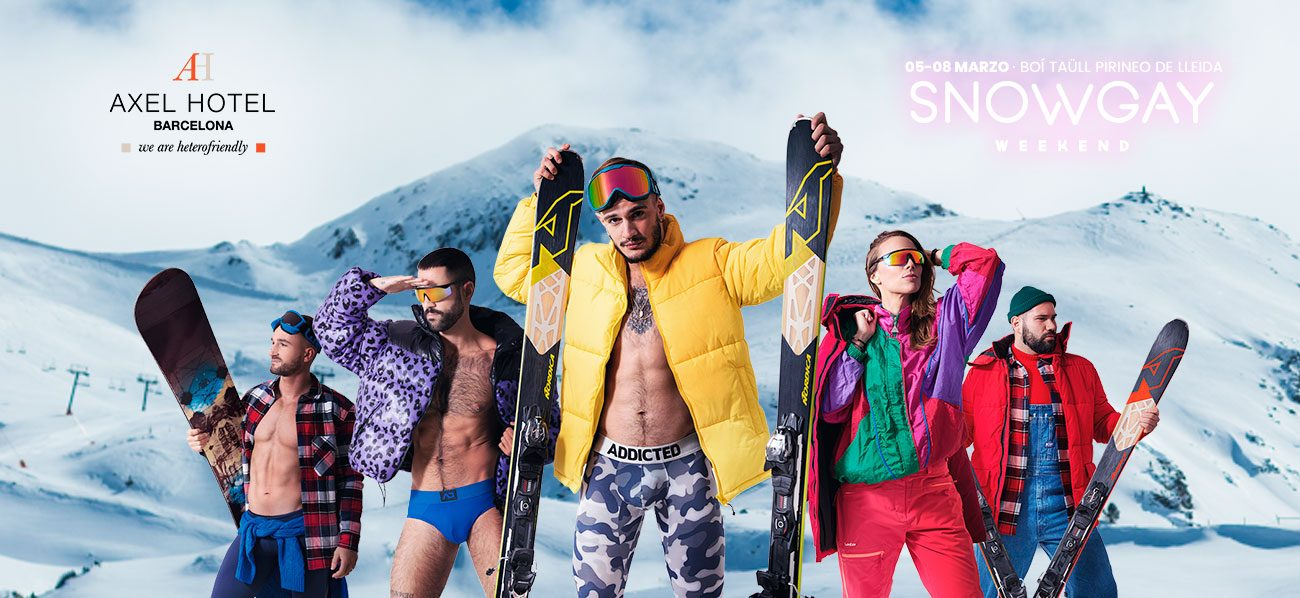 entrada snow gay weekend precio